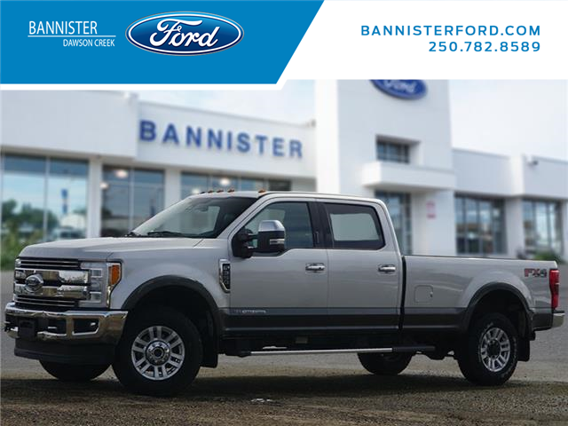 2017 Ford F-350 Lariat (Stk: T210130A) in Dawson Creek - Image 1 of 23