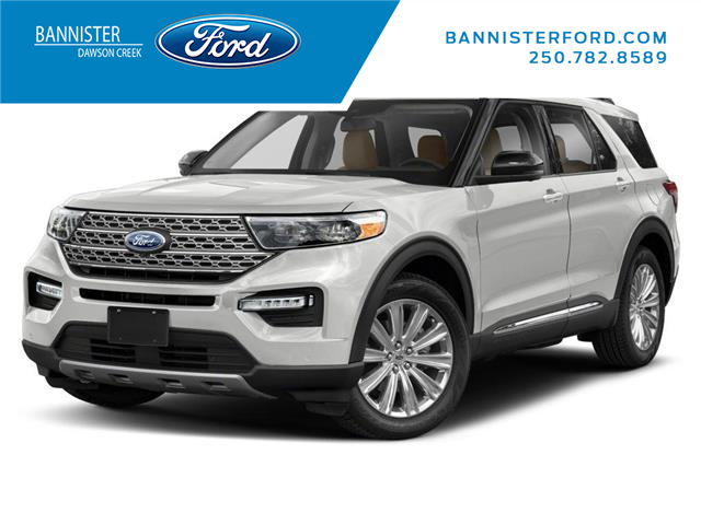 2021 Ford Explorer Limited (Stk: S210309) in Dawson Creek - Image 1 of 9