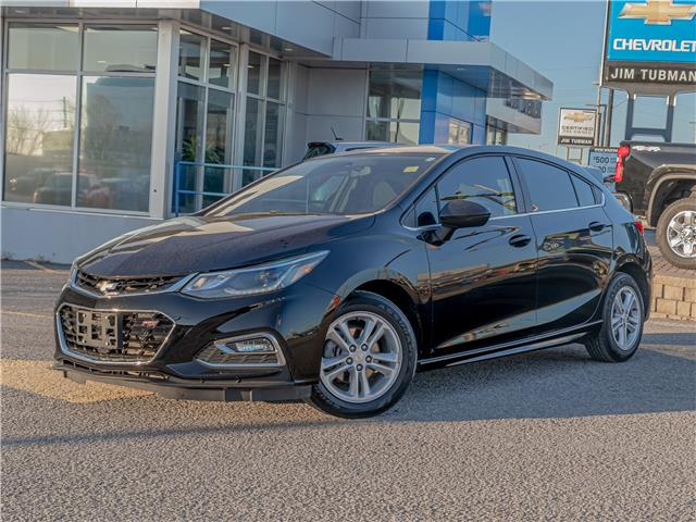 2018 Chevrolet Cruze LT Manual (Stk: 210096A) in Ottawa - Image 1 of 20