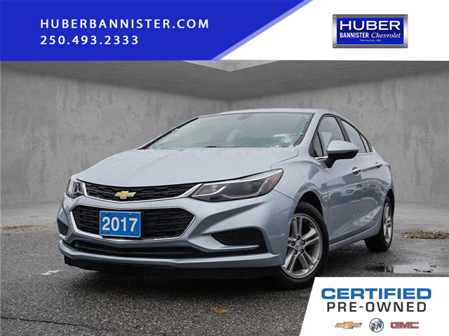 2017 Chevrolet Cruze LT Auto (Stk: 9585B) in Penticton - Image 1 of 16