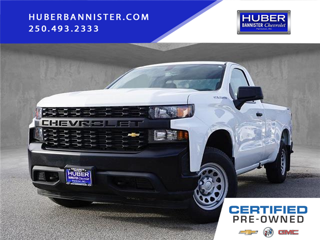 2019 Chevrolet Silverado 1500 Work Truck (Stk: 9643A) in Penticton - Image 1 of 15