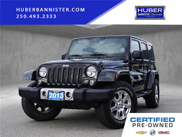 2013 Jeep Wrangler Unlimited Sahara (Stk: 9686A) in Penticton - Image 1 of 18