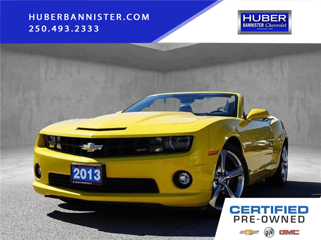 2013 Chevrolet Camaro SS (Stk: N31121A) in Penticton - Image 1 of 18