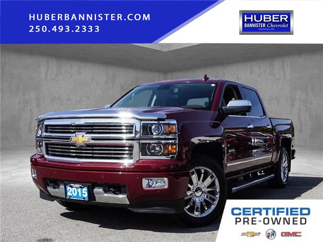 2015 Chevrolet Silverado 1500 High Country (Stk: 9756A) in Penticton - Image 1 of 25