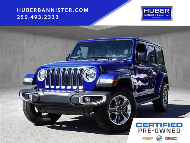2018 Jeep Wrangler Unlimited Sahara (Stk: 9775A) in Penticton - Image 1 of 21