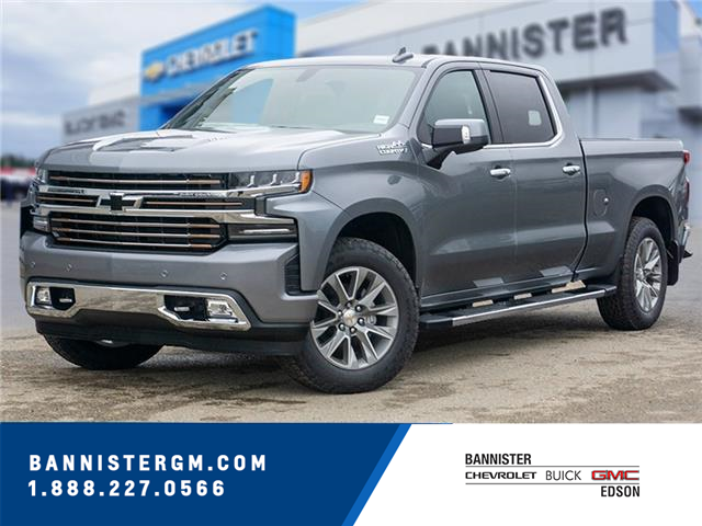 2021 Chevrolet Silverado 1500 High Country (Stk: 21-027) in Edson - Image 1 of 17