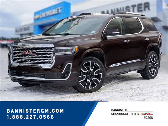 2021 GMC Acadia Denali (Stk: 21-022) in Edson - Image 1 of 17