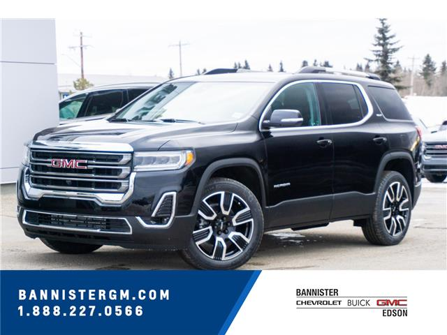 2021 GMC Acadia SLT (Stk: 21-056) in Edson - Image 1 of 17