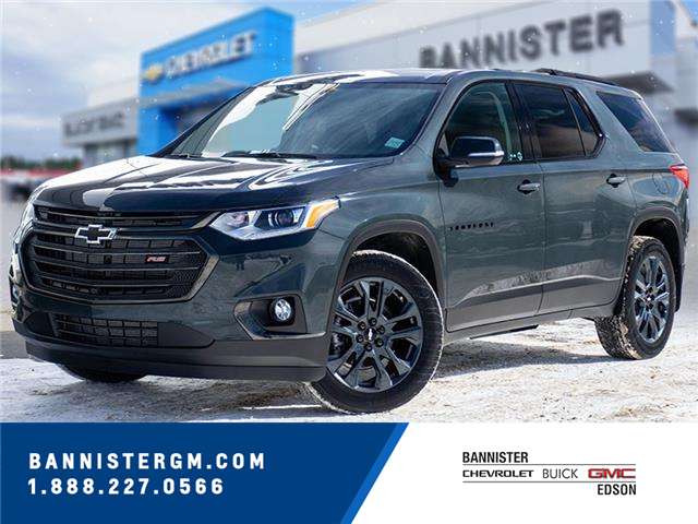 2021 Chevrolet Traverse RS (Stk: 21-067) in Edson - Image 1 of 15