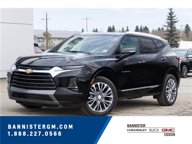 2021 Chevrolet Blazer Premier (Stk: 21-087) in Edson - Image 1 of 15