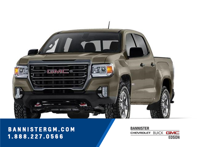 2021 GMC Canyon AT4 w/Leather (Stk: 21-158) in Edson - Image 1 of 1