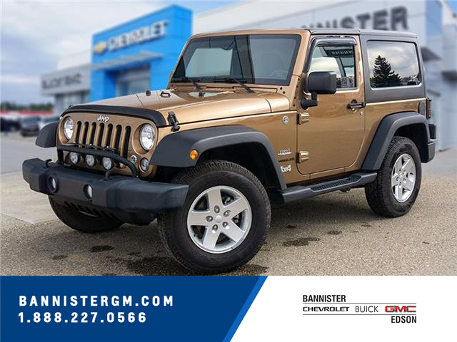 2015 Jeep Wrangler Sport (Stk: 21-190A) in Edson - Image 1 of 14