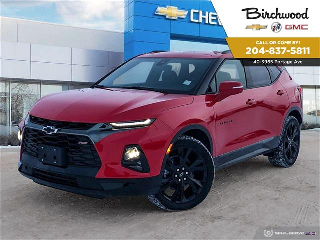 2021 Chevrolet Blazer RS (Stk: G21324) in Winnipeg - Image 1 of 25