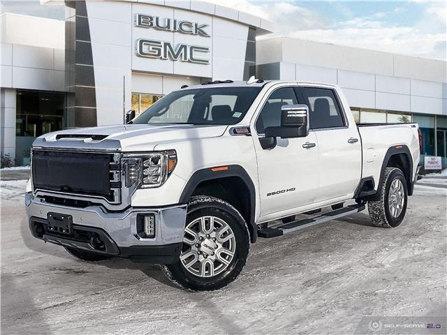 2021 GMC Sierra 2500HD SLT (Stk: G21359) in Winnipeg - Image 1 of 25