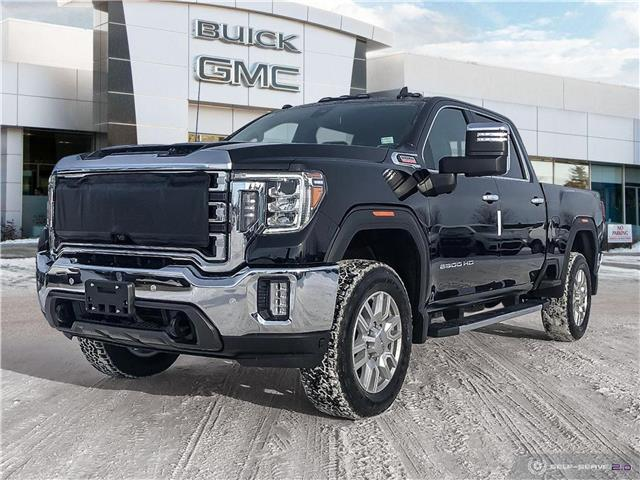 2021 GMC Sierra 2500HD SLT (Stk: G21360) in Winnipeg - Image 1 of 25