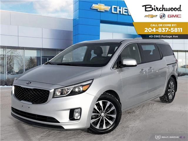 2017 Kia Sedona SX+ (Stk: F3RTCV) in Winnipeg - Image 1 of 25