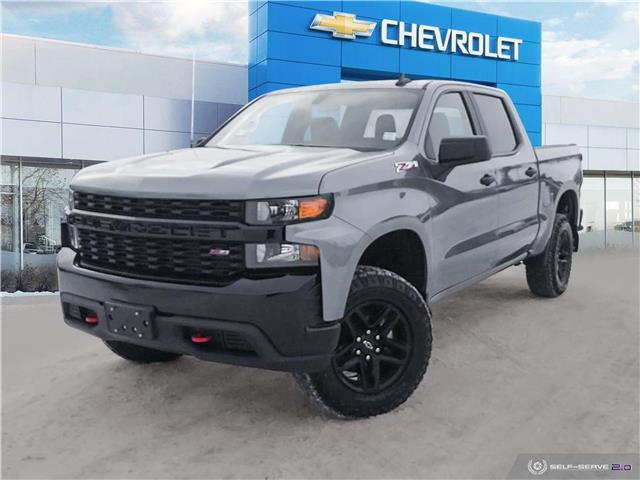 2021 Chevrolet Silverado 1500 Silverado Custom Trail Boss (Stk: G21367) in Winnipeg - Image 1 of 25
