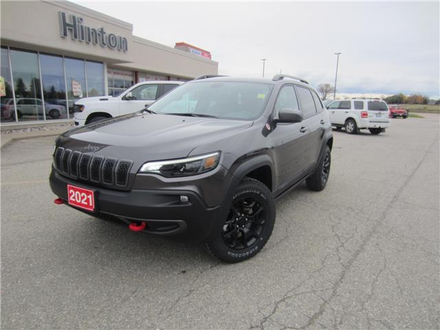 2021 Jeep Cherokee Trailhawk (Stk: 21015) in Perth - Image 1 of 13