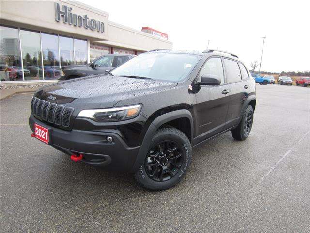 2021 Jeep Cherokee Trailhawk (Stk: 21045) in Perth - Image 1 of 13