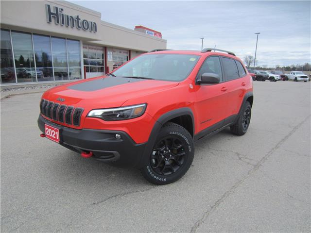 2021 Jeep Cherokee Trailhawk (Stk: 21082) in Perth - Image 1 of 17