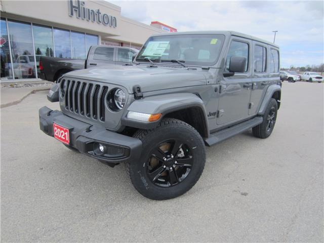 2021 Jeep Wrangler Unlimited Sahara (Stk: 21052) in Perth - Image 1 of 16