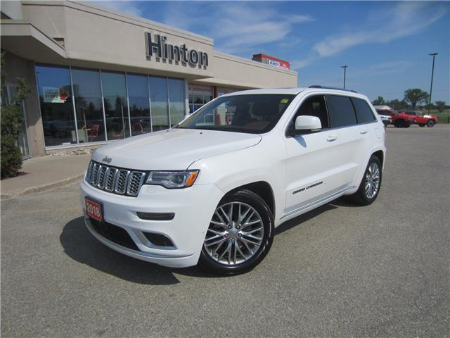 2018 Jeep Grand Cherokee Summit (Stk: 21004A) in Perth - Image 1 of 18
