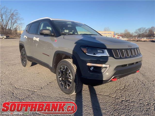 2021 Jeep Compass Trailhawk (Stk: 210096) in OTTAWA - Image 1 of 20