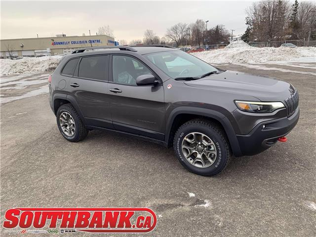2021 Jeep Cherokee Trailhawk (Stk: 210112) in OTTAWA - Image 1 of 20