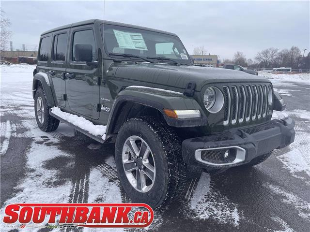 2021 Jeep Wrangler Unlimited Sahara (Stk: 210117) in OTTAWA - Image 1 of 20