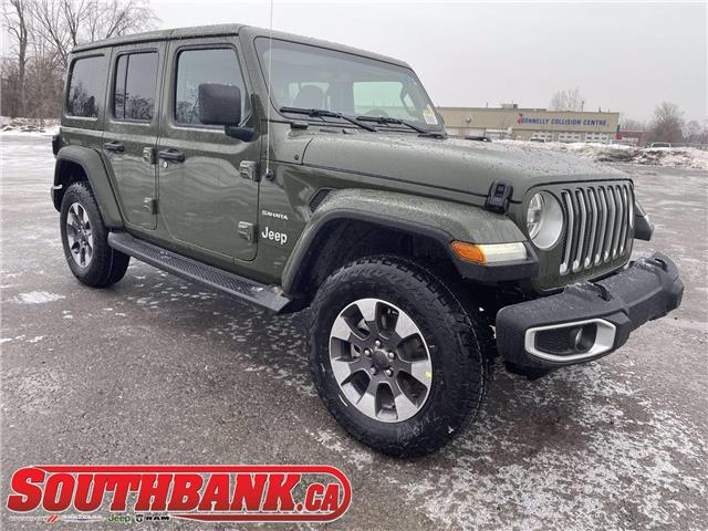 2021 Jeep Wrangler Unlimited Sahara (Stk: 210162) in OTTAWA - Image 1 of 20