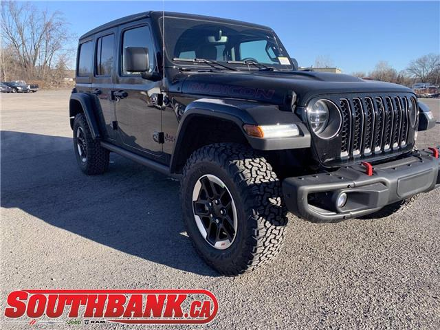 2021 Jeep Wrangler Unlimited Rubicon (Stk: 210084) in OTTAWA - Image 1 of 20