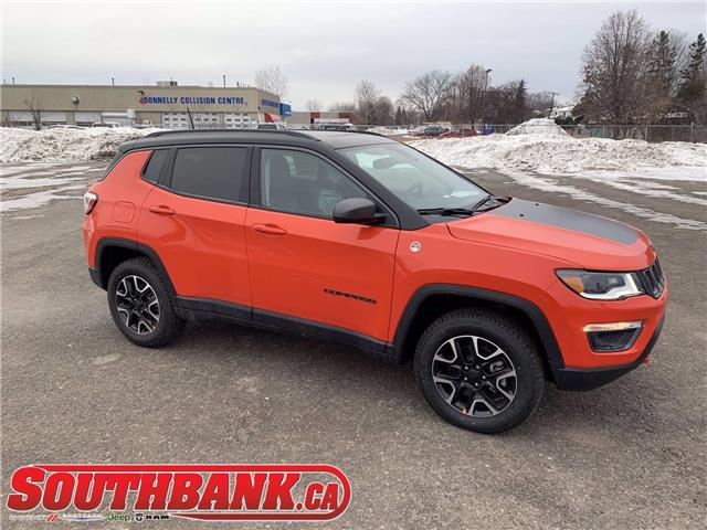 2021 Jeep Compass Trailhawk (Stk: 210110) in OTTAWA - Image 1 of 20