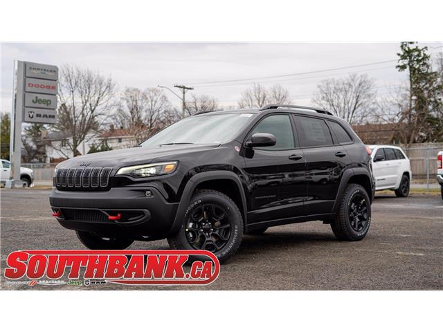 2021 Jeep Cherokee Trailhawk (Stk: 210350) in OTTAWA - Image 1 of 26