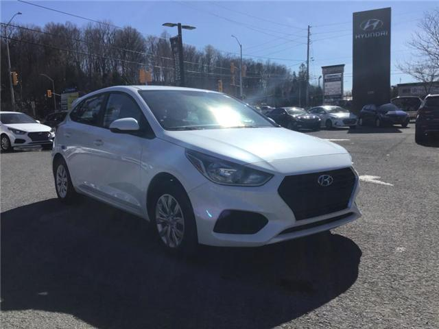2019 Hyundai Accent ESSENTIAL (Stk: R95041) in Ottawa - Image 1 of 12