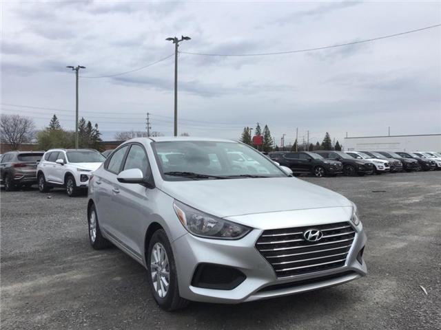 2019 Hyundai Accent Preferred (Stk: R95162) in Ottawa - Image 1 of 14