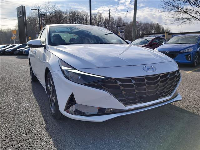 2021 Hyundai Elantra Ultimate w/Black Seats (Stk: R10313) in Ottawa - Image 1 of 17