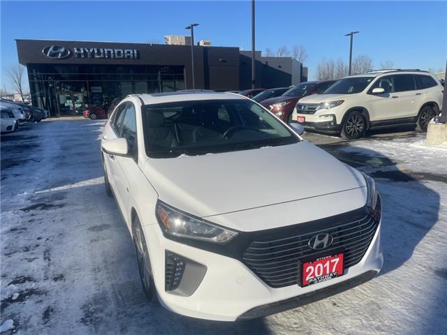 2017 Hyundai Ioniq Hybrid Limited (Stk: P3593) in Ottawa - Image 1 of 23