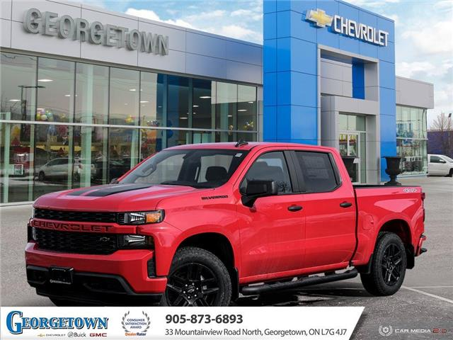 2021 Chevrolet Silverado 1500 Silverado Custom (Stk: 33098) in Georgetown - Image 1 of 27