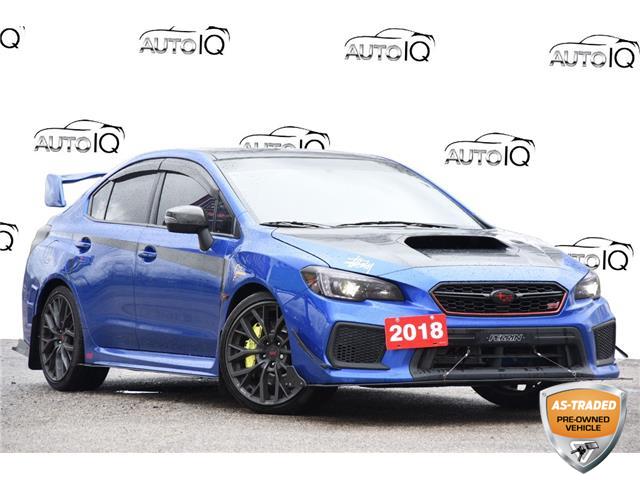 2018 Subaru WRX STI Sport-tech w/Wing (Stk: D100490BZ) in Kitchener - Image 1 of 23