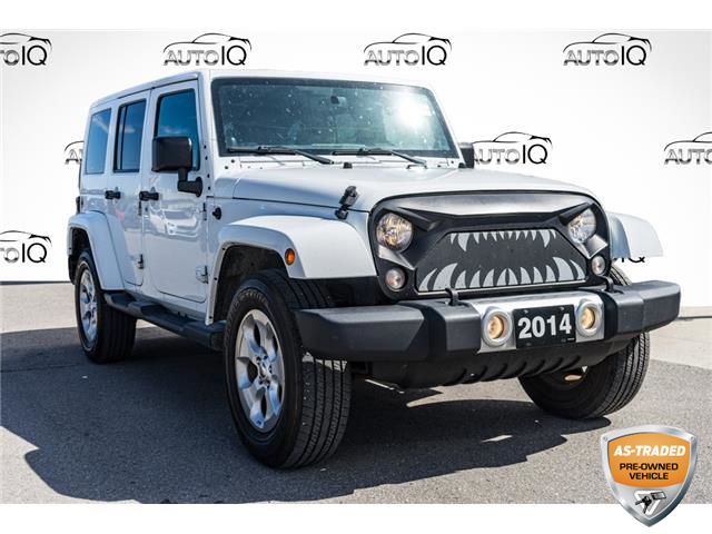 2014 Jeep Wrangler Unlimited Sahara (Stk: 44453AUZ) in Innisfil - Image 1 of 20