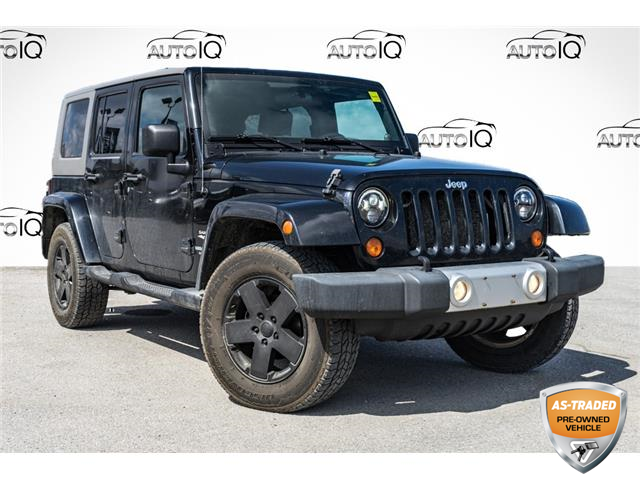 2010 Jeep Wrangler Unlimited Sahara (Stk: 34826BUZ) in Barrie - Image 1 of 24