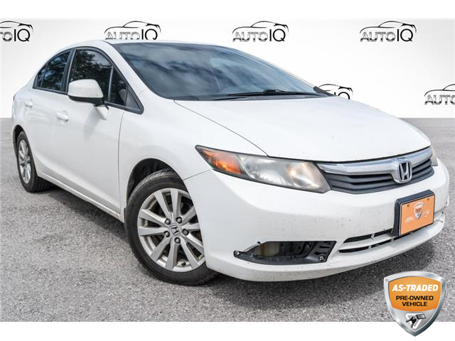 2012 Honda Civic EX (Stk: 34269AUX) in Barrie - Image 1 of 21