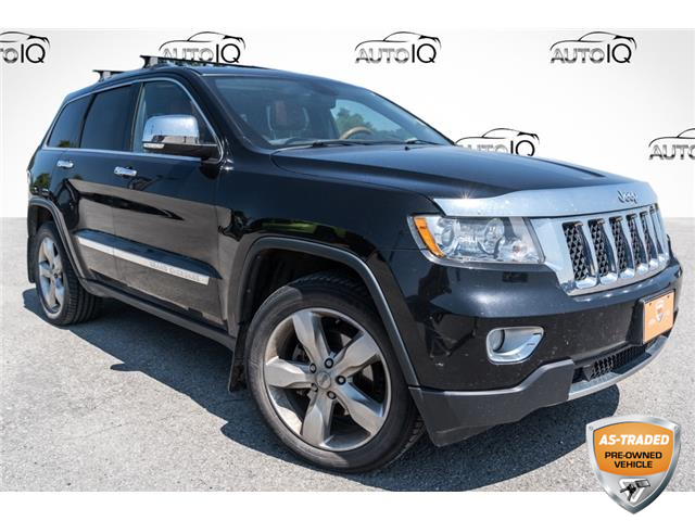 2012 Jeep Grand Cherokee Overland (Stk: 35166AUZ) in Barrie - Image 1 of 28