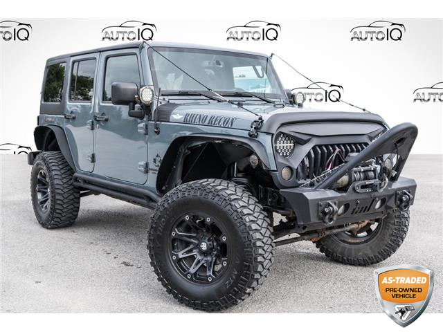 2014 Jeep Wrangler Unlimited Sahara (Stk: 35065CU) in Barrie - Image 1 of 24