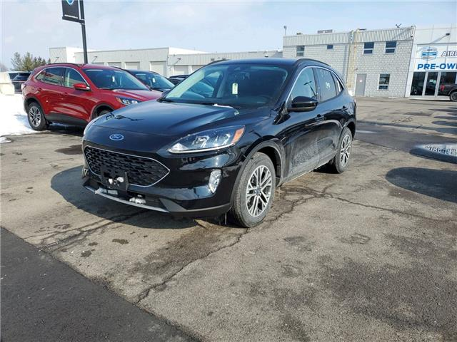 2021 Ford Escape SEL Hybrid (Stk: 210057) in Hamilton - Image 1 of 12