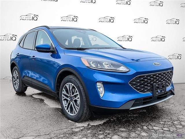 2021 Ford Escape SEL Hybrid Blue