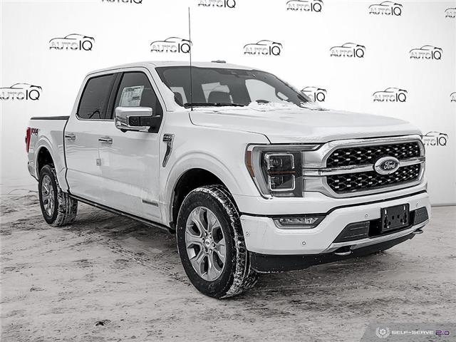 2021 Ford F-150 Platinum (Stk: T1053) in St. Thomas - Image 1 of 30