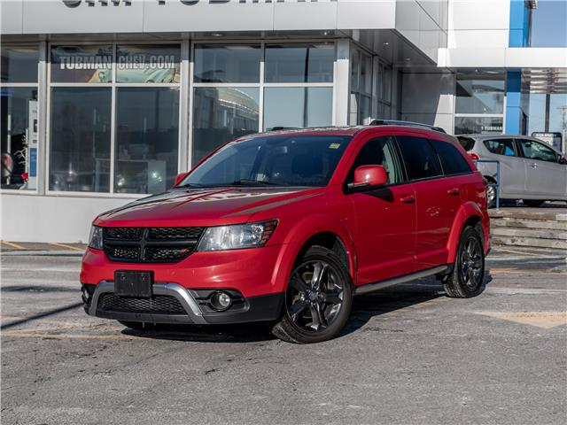 2014 Dodge Journey Crossroad (Stk: P10108A) in Ottawa - Image 1 of 19