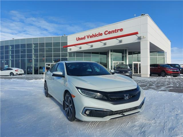 2019 Honda Civic Touring (Stk: U214057) in Calgary - Image 1 of 29