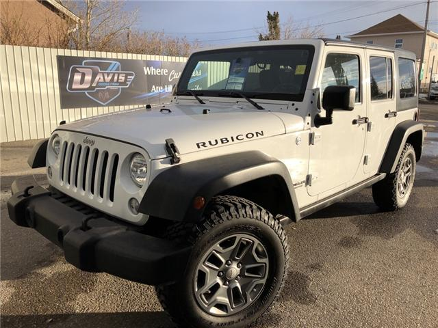 2015 Jeep Wrangler Unlimited Rubicon (Stk: 7493) in Fort Macleod - Image 1 of 18